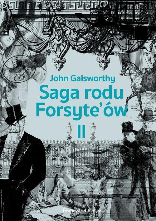 okładka Saga rodu Forsyteów Tom 2 Babie lato jednego z Forsyte`ów. W matni, Książka | John Galsworthy