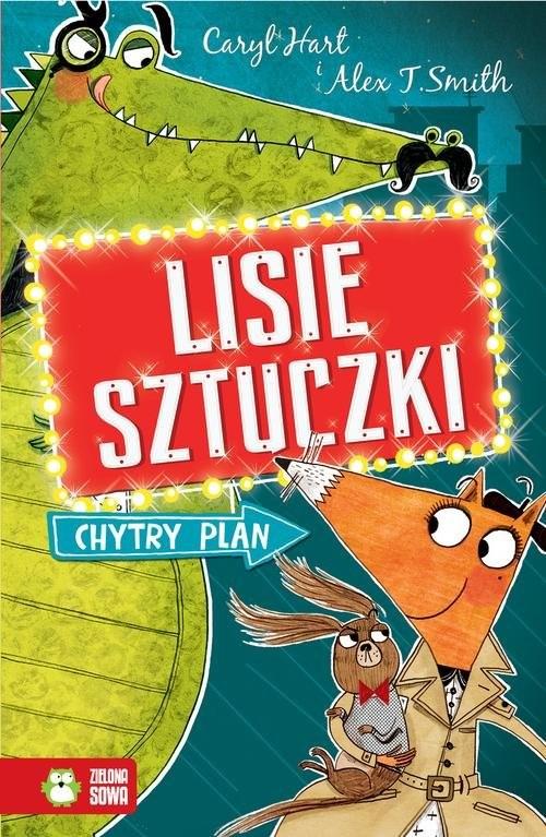 okładka Lisie sztuczki Chytry plan, Książka | Hart Caryl
