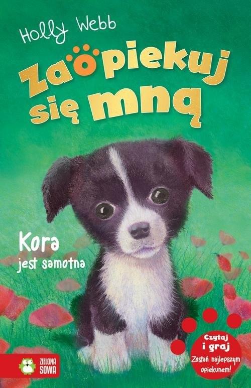 okładka Zaopiekuj się mną Kora jest samotna, Książka | Webb Holly