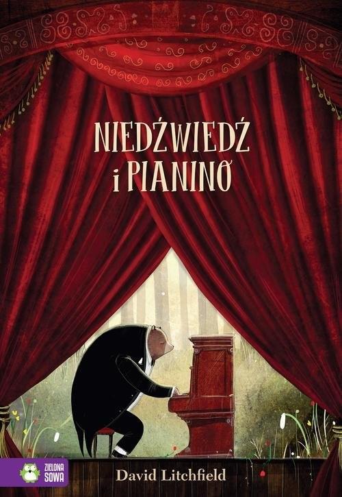 okładka Niedźwiedź i pianino, Książka | Litchfield David