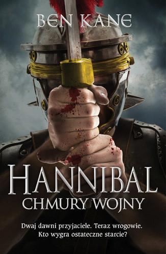 okładka Hannibal. Chmury wojny, Książka | Kane Ben