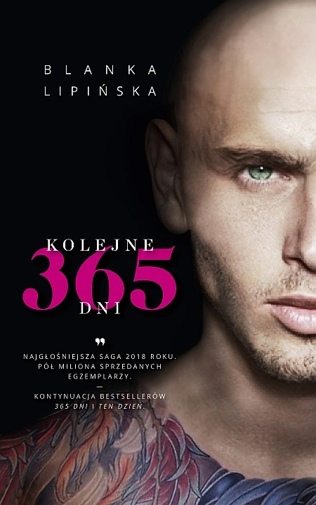 okładka Kolejne 365 dni, Książka | Lipińska Blanka