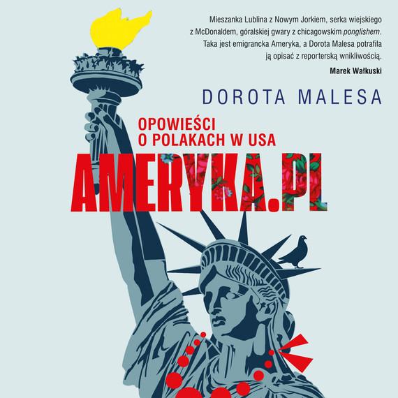 okładka Ameryka.pl  Opowieści o Polakach w USAaudiobook | MP3 | Dorota Malesa