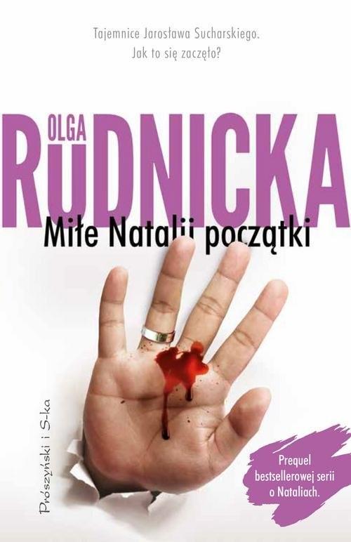 okładka Miłe Natalii początki, Książka | Olga Rudnicka