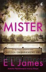 okładka Mister, Książka | L. James E.