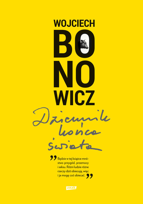 okładka Dziennik końca świata, Książka | Wojciech Bonowicz