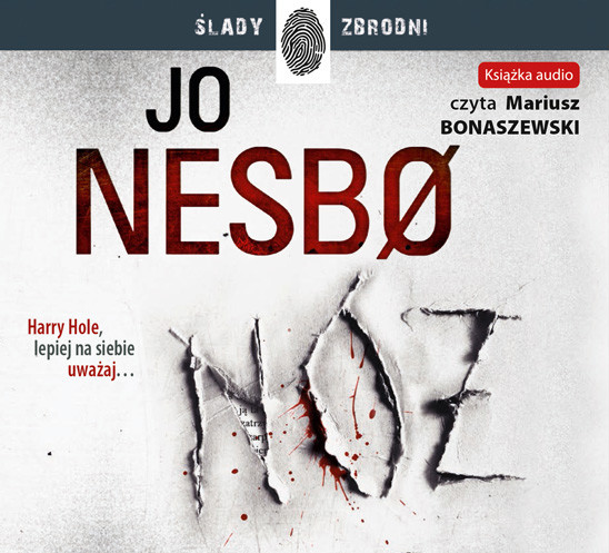 okładka Nóżaudiobook | MP3 | Jo Nesbø