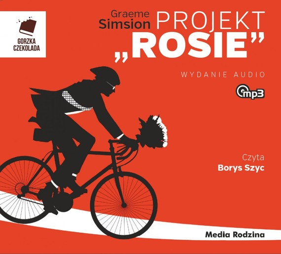 "okładka Projekt ""Rosie""audiobook | MP3 | Graeme Simsion"