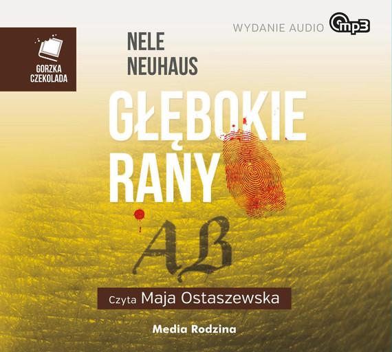 okładka Głębokie ranyaudiobook | MP3 | Nele Neuhaus