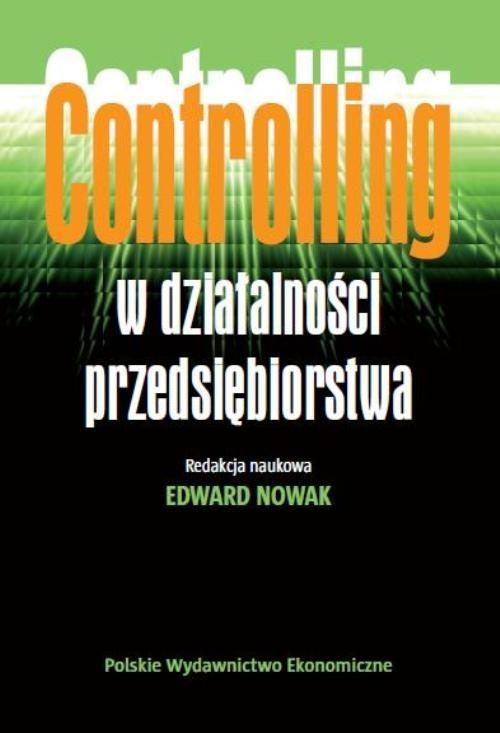 okładka Controlling w działalności przedsiębiorstwa, Książka | Nowak Edward