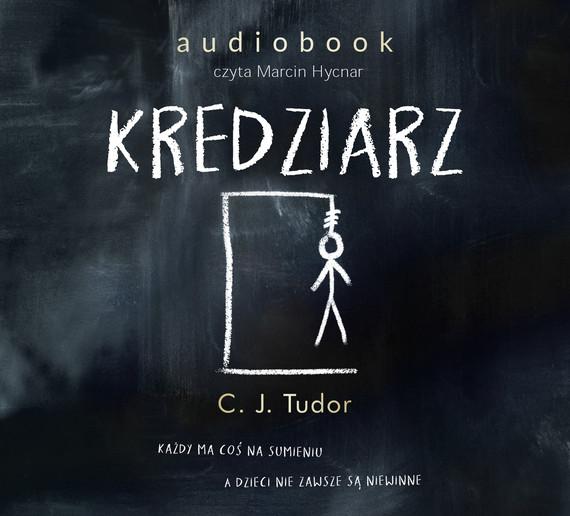 okładka Kredziarz, Audiobook   C.J.  Tudor