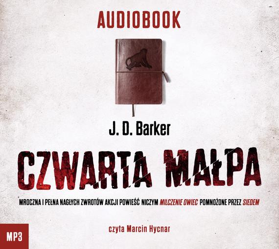 okładka Czwarta małpa, Audiobook   J. D. Baker