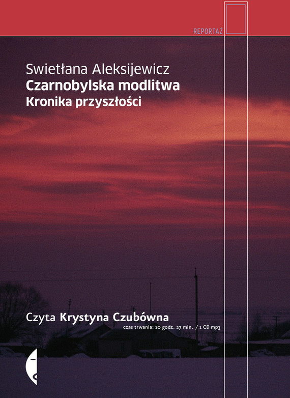 okładka Czarnobylska modlitwa.audiobook   MP3   Swietłana Aleksijewicz