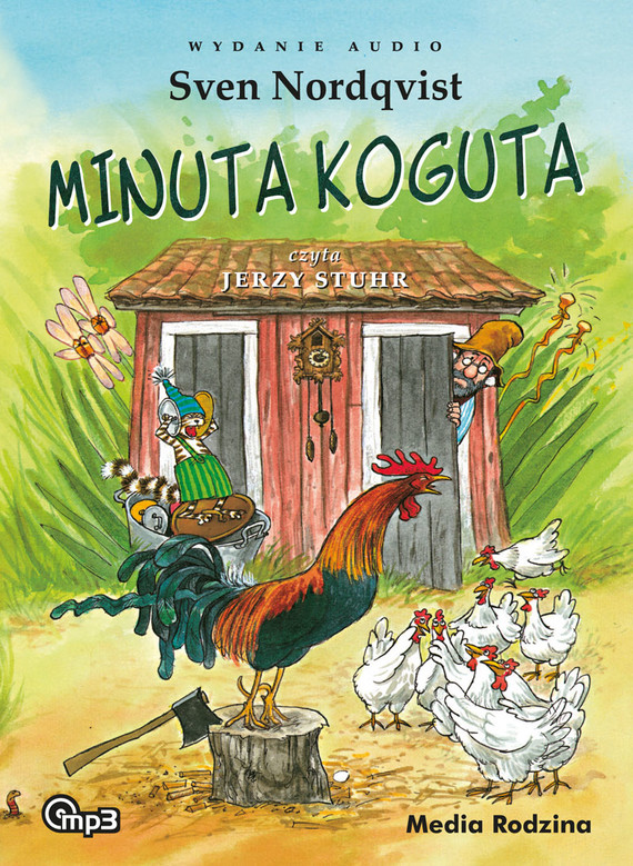 okładka Pettson i Findus. Minuta koguta mp3, Audiobook | Sven Nordqvist