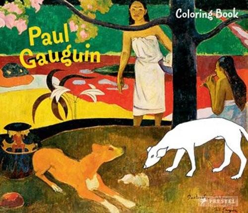 okładka Coloring Book Paul Gauguin, Książka | Roeder Annette