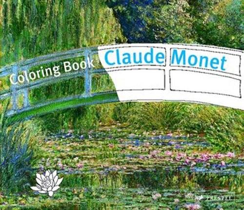 okładka Coloring Book: Claude Monet Claude Monet, Książka   Kutschbach Doris