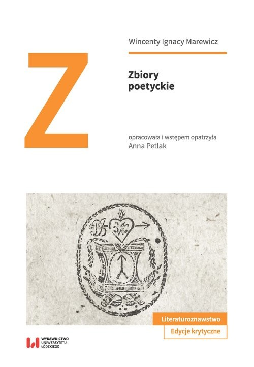okładka Zbiory poetyckieksiążka |  | Wincenty Ignacy Marewicz