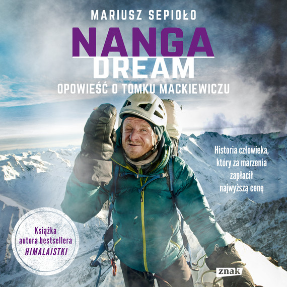 okładka Nanga Dream, Audiobook | Mariusz Sepioło
