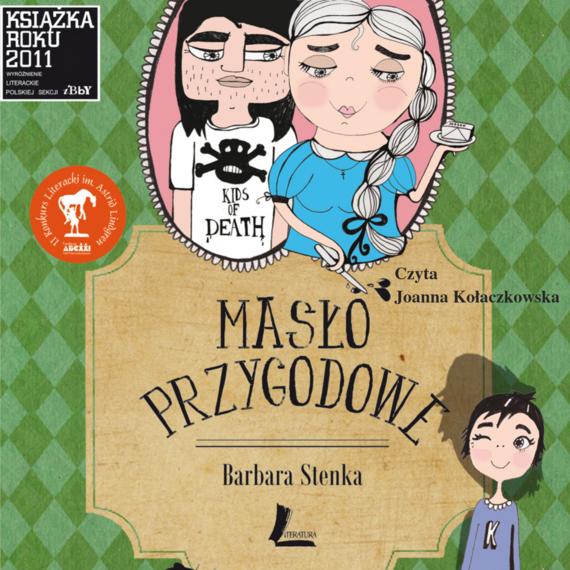 okładka Masło przygodowe + audiobook MP3, Audiobook | Barbara Stenka