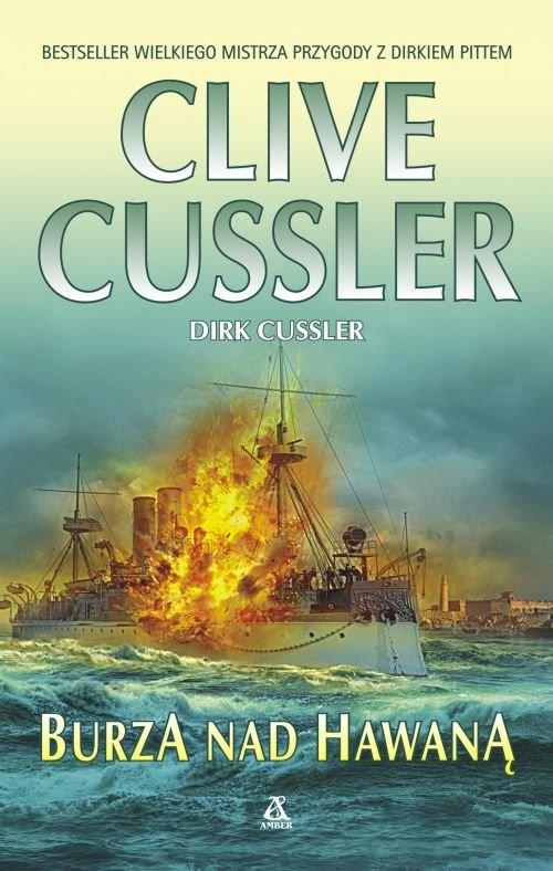 okładka Burza nad Hawaną, Książka | Cussler Clive, Dirk Cussler