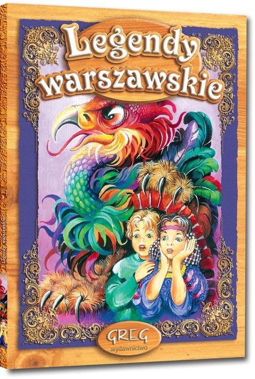 okładka Legendy warszawskie, Książka | Oppman Artur