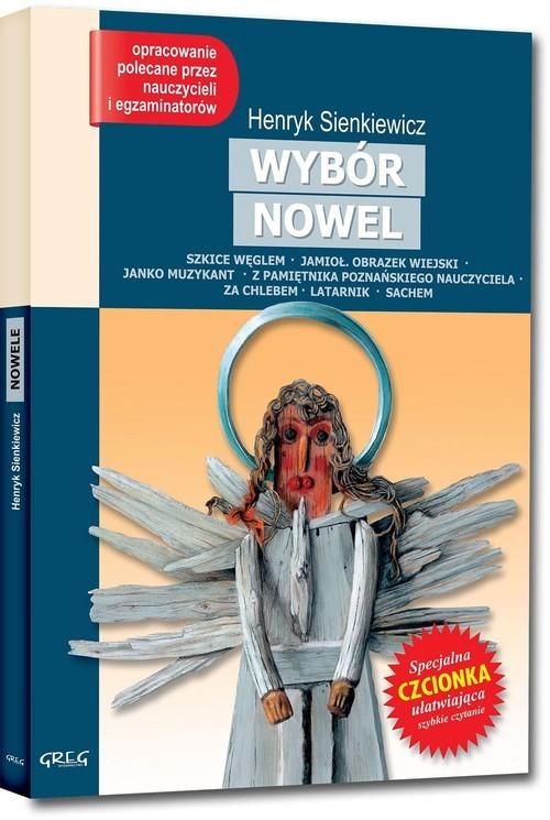 okładka Nowele Lektura z opracowaniemksiążka      Sienkiewicz Henryk
