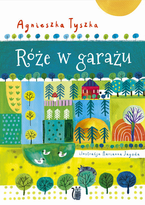 okładka Róże w garażu, Książka | Tyszka Agnieszka