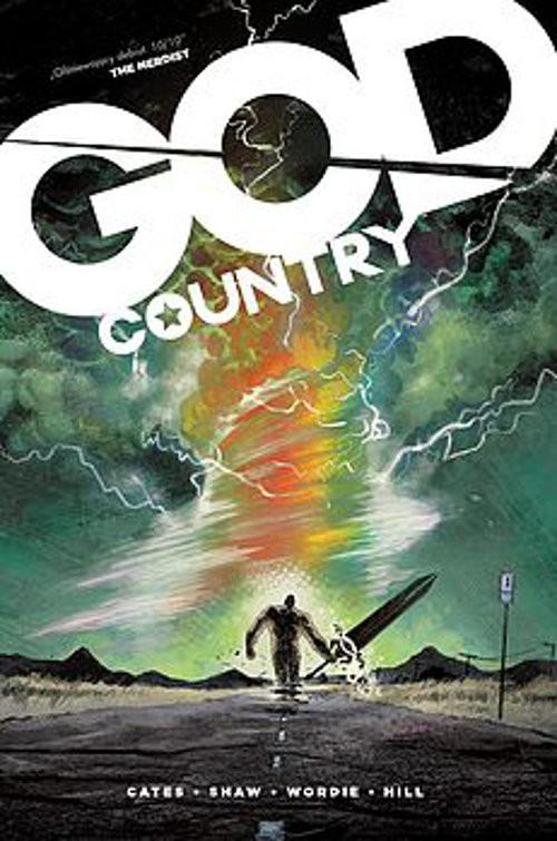 okładka God Country, Książka | Cates Donny
