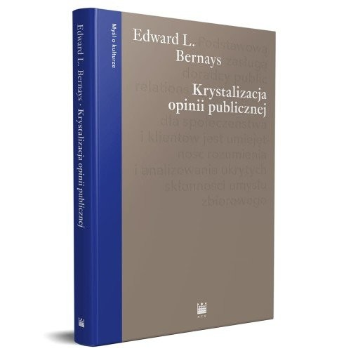 okładka Krystalizacja opinii publicznej, Książka | Edward L. Bernays
