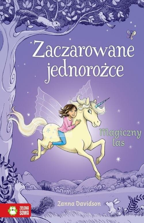 okładka Zaczarowane jednorożce Magiczny las, Książka | Davidson Zanna