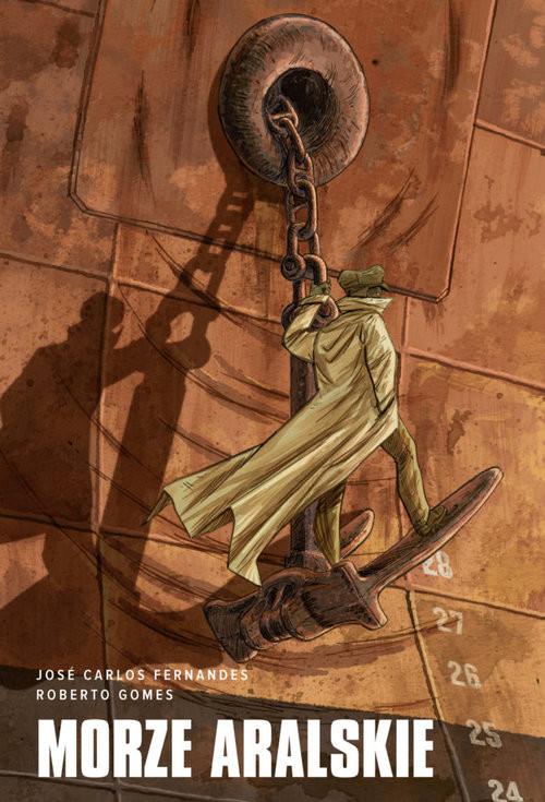 okładka Morze Aralskie, Książka | Jose Carlos Fernandes, Roberto Gomes