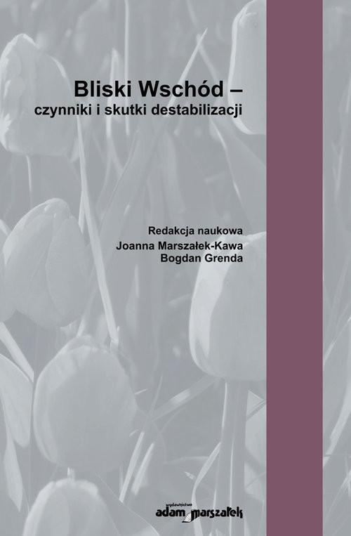 okładka Bliski Wschód - czynniki i skutki destabilizacji, Książka |