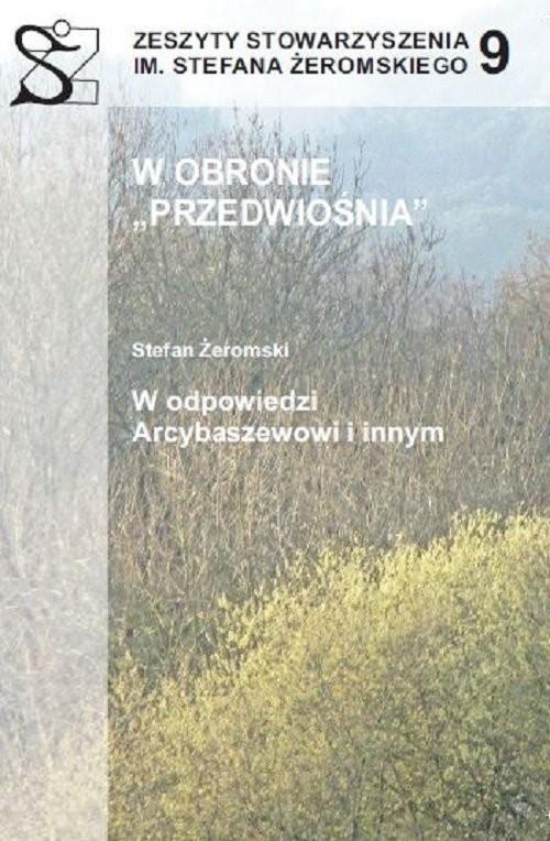 okładka W obronie Przedwiośnia, Książka  