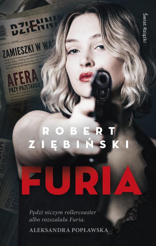 okładka Furia, Książka | Ziębiński Robert