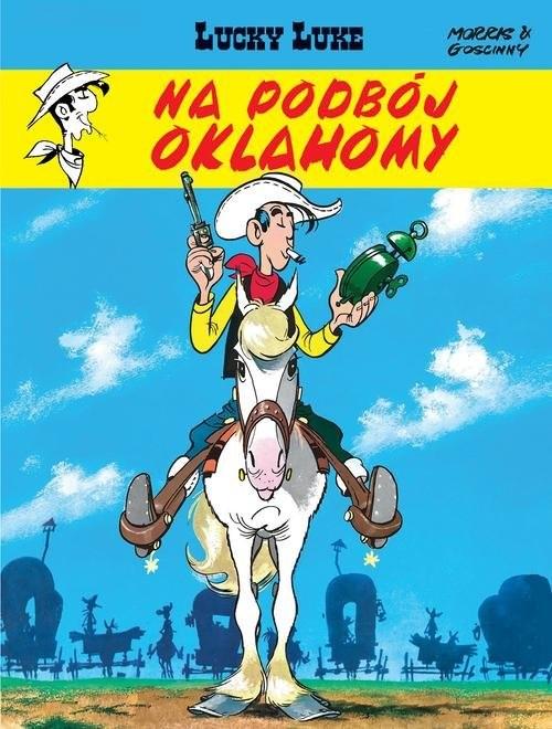 okładka Lucky Luke Na podbój Oklahomy Tom 14, Książka | Goscinny Rene