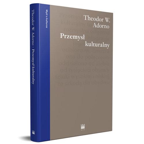 okładka Przemysł kulturalny Wybrane eseje o kulturze masowej, Książka | Theodor W. Adorno