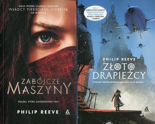 okładka Zabójcze maszyny / Złoto drapieżcy Pakiet, Książka | Reeve Philip
