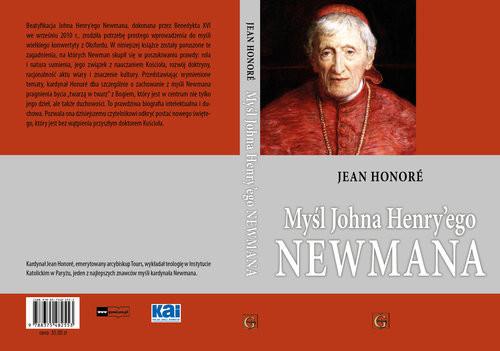 okładka Myśl Johna Henry`ego Newmana, Książka | Jean Honoré kardynał