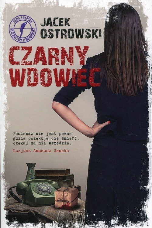 okładka Czarny wdowiec, Książka | Ostrowski Jacek