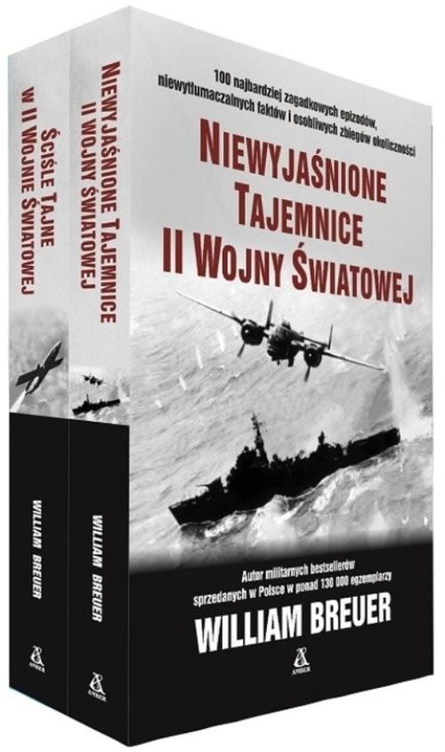 okładka Niewyjaśnione tajemnice II wojny światowej / Ściśle tajne w II wojnie światowej Pakiet, Książka | Breuer William