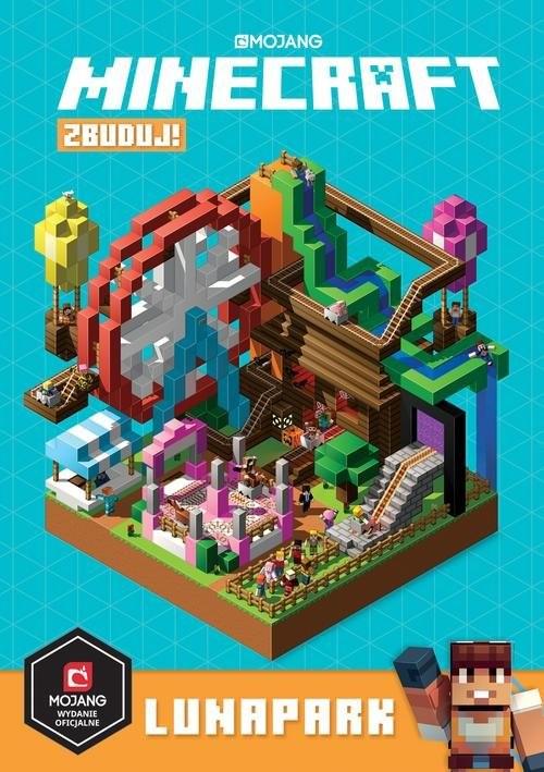 okładka Minecraft Zbuduj! Lunaparkksiążka |  | Milton Stephanie