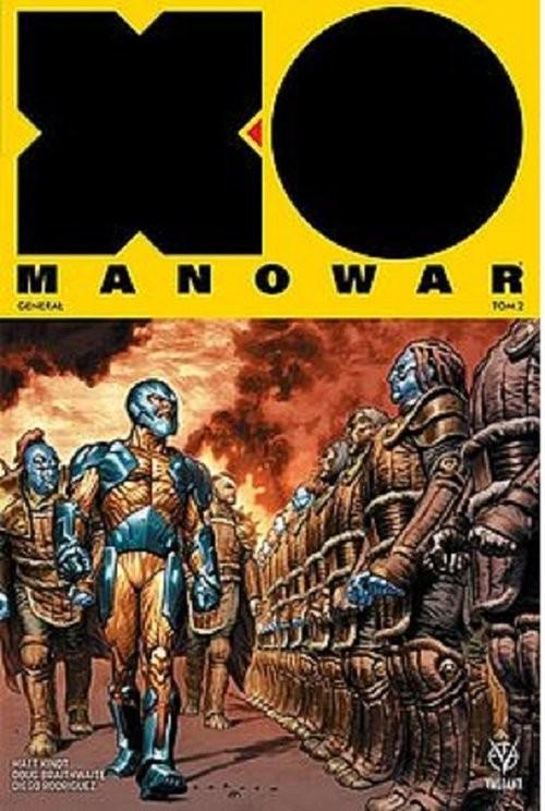 okładka X-O Manowar - 2 - Generał, Książka | Kindt Matt