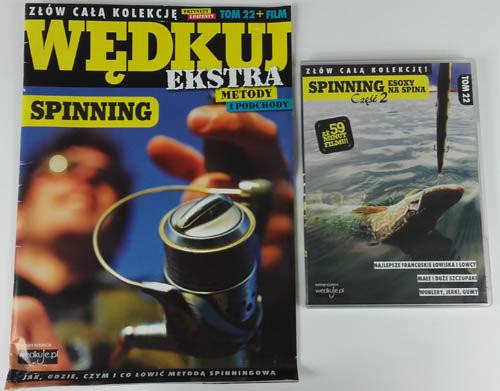 okładka Wędkuj. Przynęty i patenty. Tom 22 + film. Spinning Złów całą kolekcję. Zwyczaje ryb. Metody. Sprzęt. Łowiska (Kolekcja Edipresse), Książka |