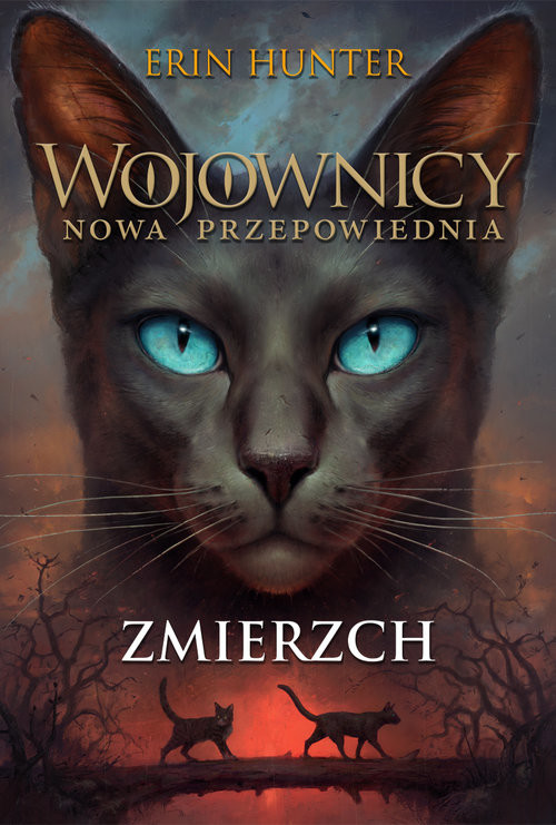 okładka Wojownicy Nowa Przepowiednia Tom V Zmierzchksiążka      Hunter Erin