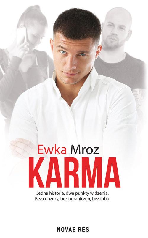 okładka Karma, Książka | Mroz Ewka