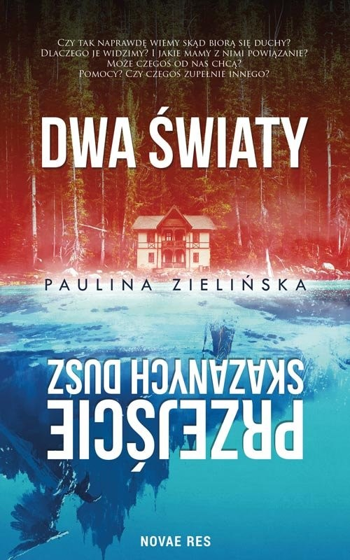 okładka Dwa światy Przejście skazanych dusz, Książka | Zielińska Paulina