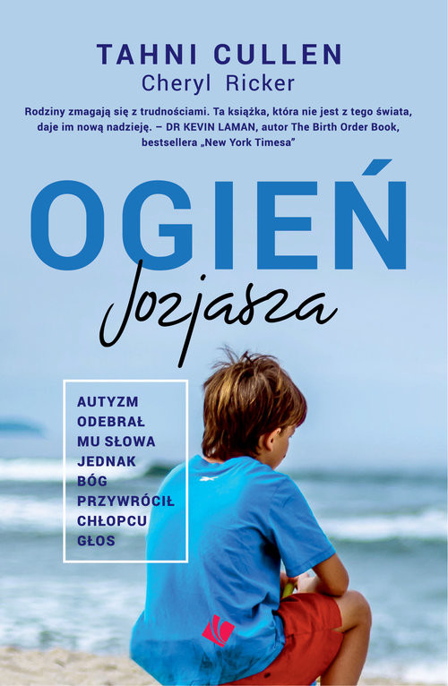 okładka Ogień Jozjasza, Książka   Tahni Cullen, Cheryl Ricker