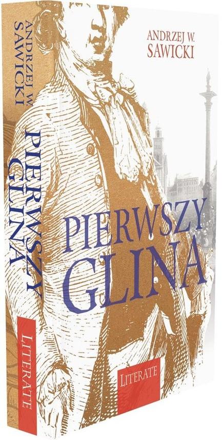 okładka Pierwszy glina, Książka | Andrzej W. Sawicki