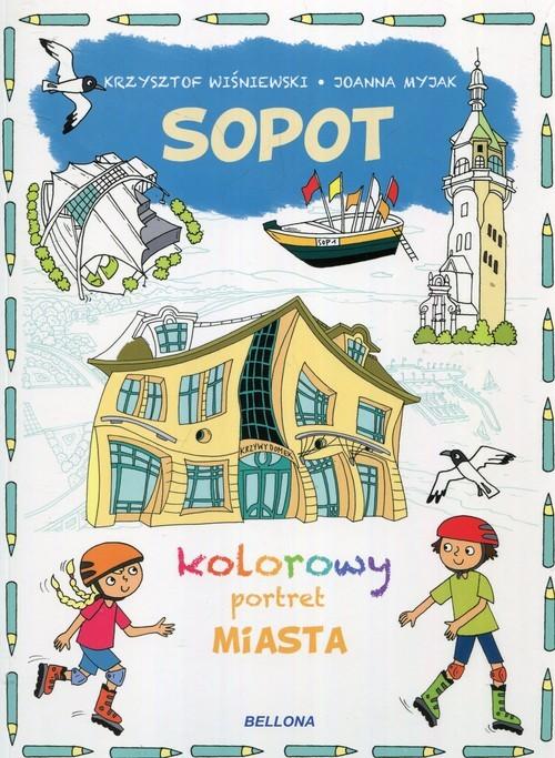 okładka Sopot kolorowy portret miasta, Książka | Wiśniewski Krzysztof