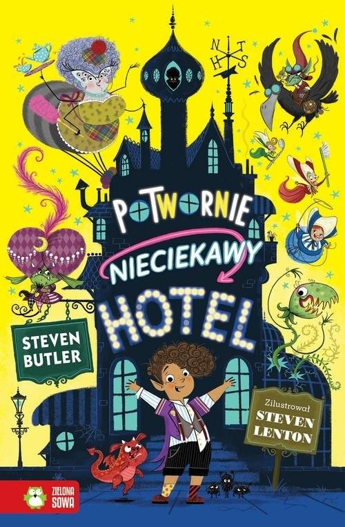 okładka Potwornie nieciekawy hotel, Książka | Butler Steven